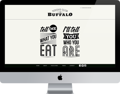 Buffalo Dining Club website