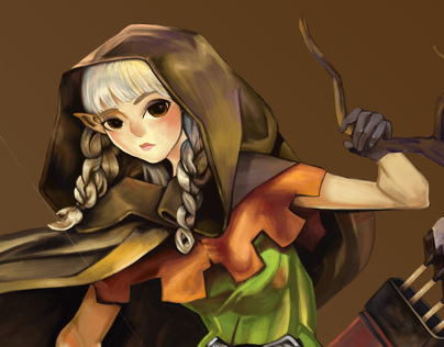 Dragons Crown: Elf (Fanart)