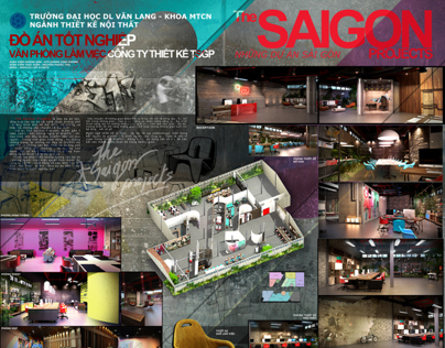 Graduation project - The SaiGon Peojectss Head Office