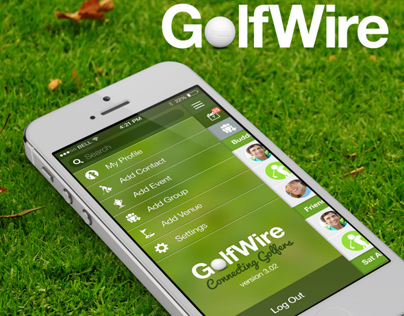 GolfWire, iPhone Social Media App Proposal for Golfers