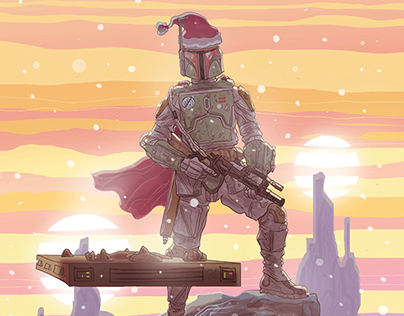 Star Wars Christmas Cards 2013