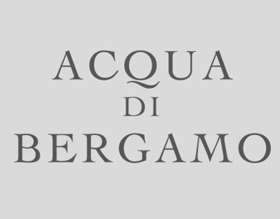 Packaging - Acqua di Bergamo