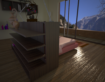 interior desgn render