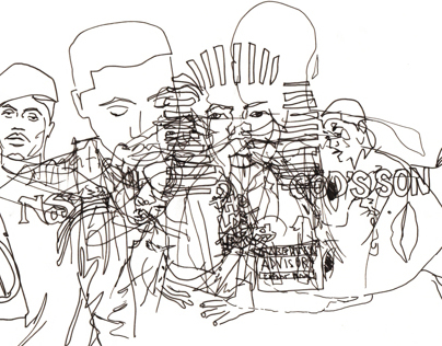 Nas album initiative: Interior sketch