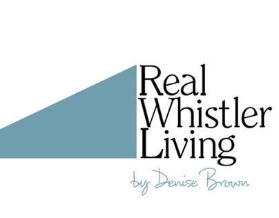 Real Whistler Living logo Identity