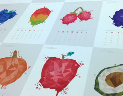 FRUIT & VEGETABLES CALENDAR