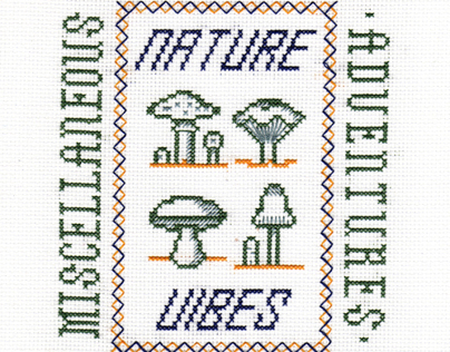 Miscellaneous Adventures | Outdoor Themed Cross Stitch