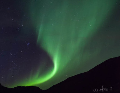 Aurora Borealis of the season 2013/14
