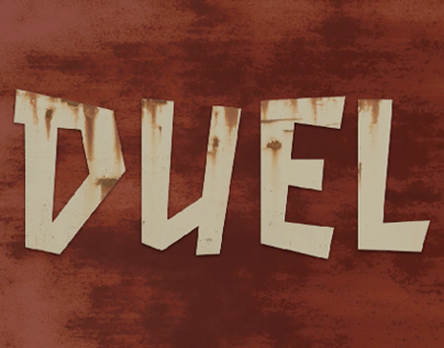 Steven Spielbergs DUEL Animated Title