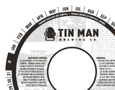 Tin Man Brewing Co. Keg Collars