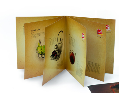 Brochure for Tea Brand