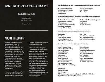 43rd Mid-States Craft Catalog
