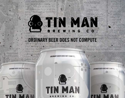 Tin Man Brewing Co Sales Kit and Beer Guide
