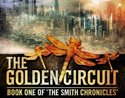 John K. Irvine The Golden Circuit Book cover design