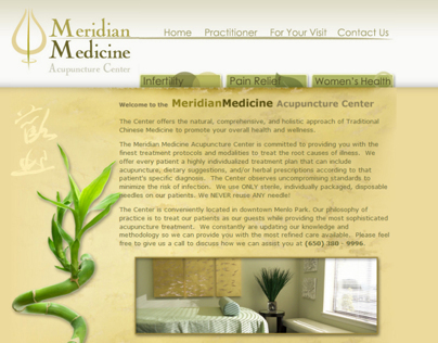 Meridian Medicine Website