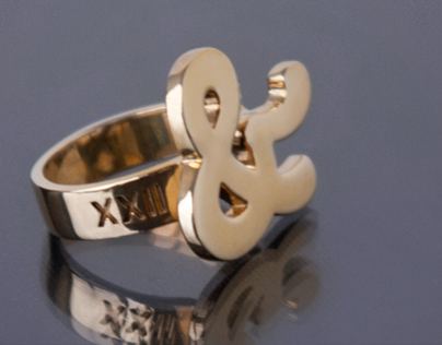 XXII Ampersand Ring