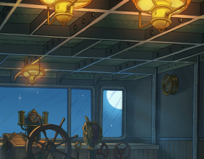 Jules Verne - Color background