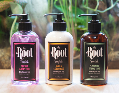 The Root Soap Lab.