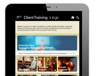 Client Training Mobile App