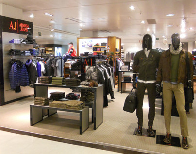 VISUAL MERCHANDISING ARMANI JEANS