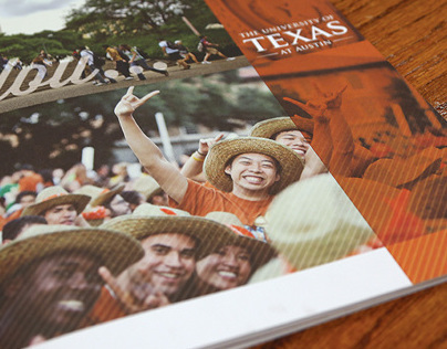 The University of Texas viewbook brochure