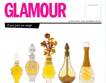Newsletter da revista Glamour