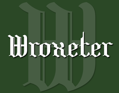 Wroxeter-A Black Letter for Christmas, or any time!