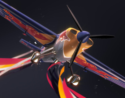 RedBull Airace / On-air package pitch