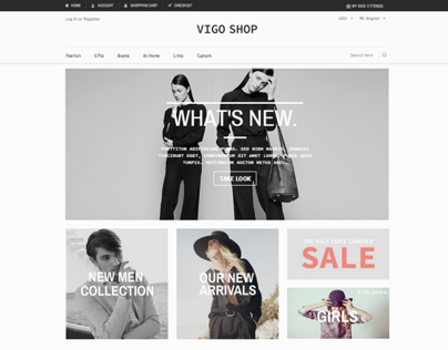Vigoshop - Premium Magento Theme