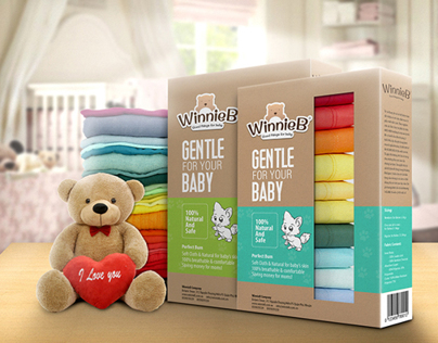 WinnieB Branding & Packaging design