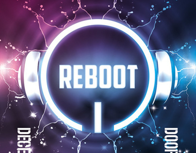 Reboot Party Flyer