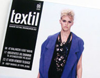 Textil - Magazine (school project)