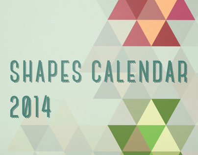Shapes Calendar 2014