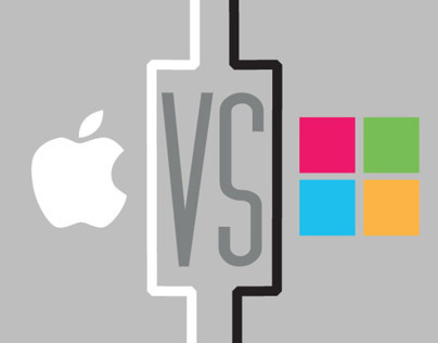 Mac vs. PC Infographic