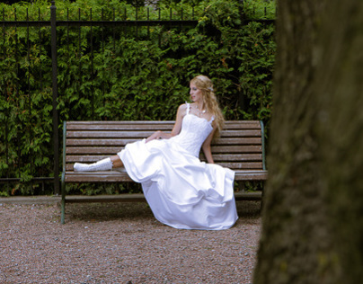 Shooting medieval wedding dresses BTS Von wong photogra