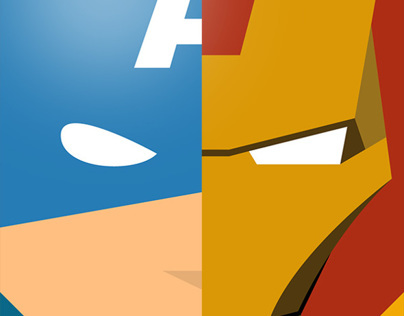 Minimal heroes of Comics part #2