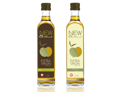 Packaging Design: Olive Oil