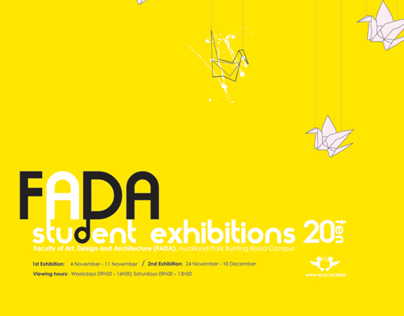 Year End Exhibition Design: Student Project