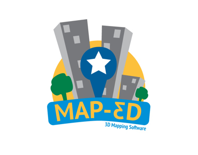 Brand Identity: Map-ed 3D Mapping Software