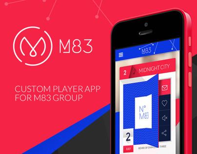 M83 Group - Custom Player App / Proposal
