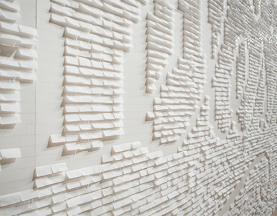 The Happy Show: Cigarette Paper Mural