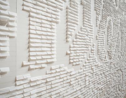 The Happy Show: Cigarette Paper Mural