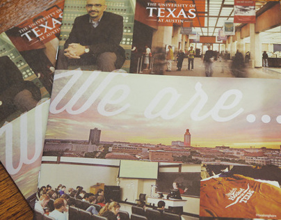 The University of Texas Mini viewbook brochure