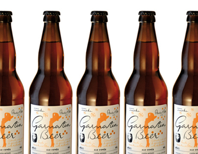 Garnatxa Beer. Design&Calligraphy