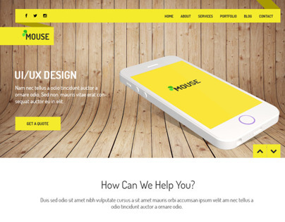 Mouse - Multipurpose PSD Template