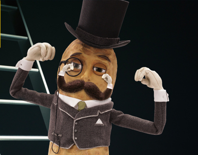 "Planters' Mr. Peanut ""Movember"" Animations"