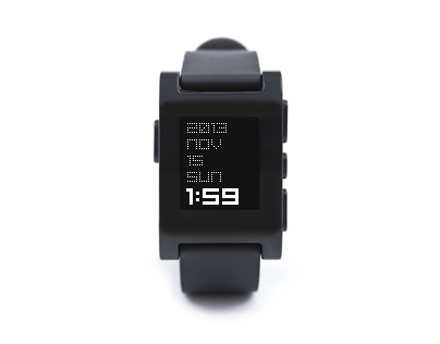 txttmm - watchface app for Pebble
