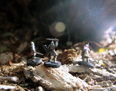 Knights Of Braid | Stop Motion Animation