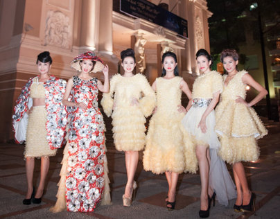 Runway Condom Fashion Show in Saigon
