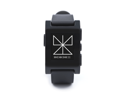 ttmmline - watchface app for Pebble